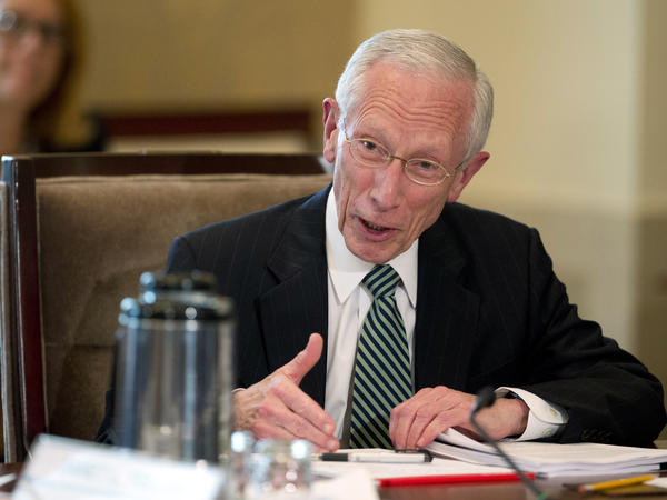 Federal Reserve Vice Chairman Stanley Fischer, speaks during a Board of Governors of the Federal Reserve System meeting in July.