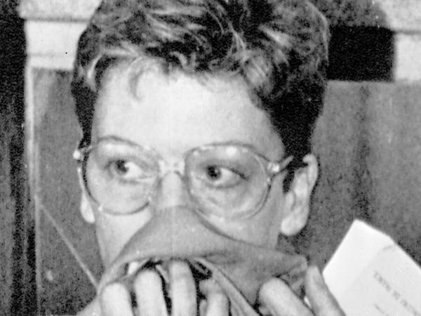 Dominique Prieur, in a 1985 photo. Prieur was a French spy arrested in New Zealand two days after the sinking of the Greenpeace flagship Rainbow Warrior.