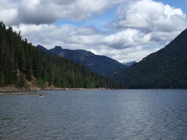 <p>Kachess Lake in Washington's Cascade Mountains.</p>