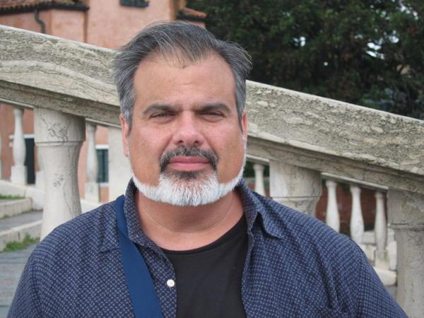 Christopher Saucedo teaches sculpture, drawing and mixed media art at Adelphi University.