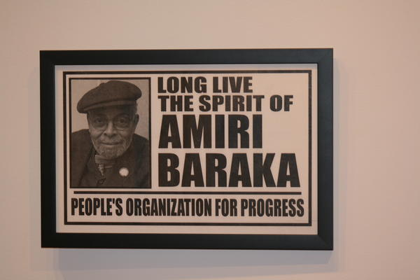 Amiri Baraka is a poet, playwright and political activist whose career spans more than four decades.