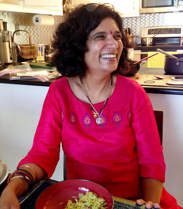 My mom, Vani Singh. She knew all about moringa before it was hip.