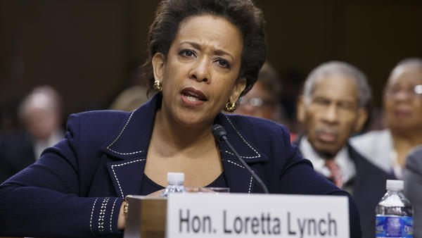 """In her Senate confirmation hearing this year, Attorney General Loretta Lynch said she would read the executive summary of the Intelligence Committee report. The FBI director said some people at his agency had read the """"entire thing."""""""