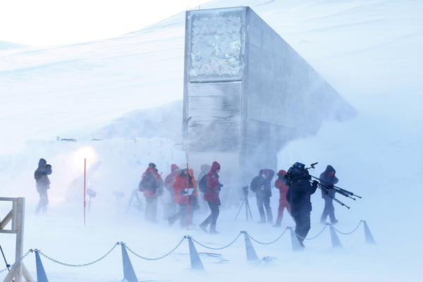 The Svalbard Global Seed Vault was opened on Feb. 26, 2008. Carved into the Arctic permafrost and filled with samples of the world's most important seeds, it's a Noah's Ark of food crops to be used in the event of a global catastrophe.