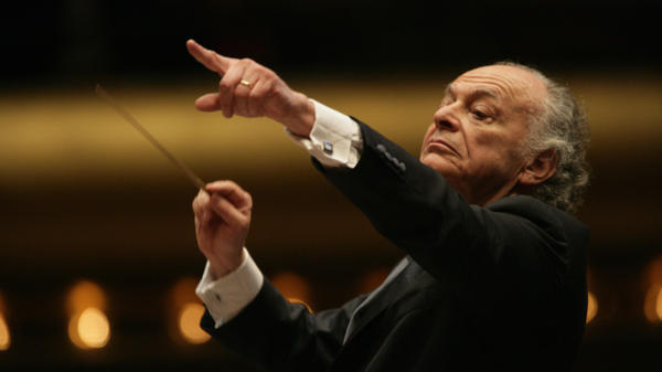 Conductor Lorin Maazel, whose own, truncated orchestra-only arrangement of Wagner's <em>Ring</em> cycle will be performed by the Vienna Philharmonic.