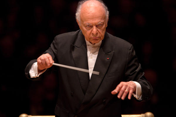 "The evening's second half was dedicated to Maazel's own arrangement of Wagner's 17-hour ""Ring"" cycle — down to a 70-minute suite for orchestra, with no singing."