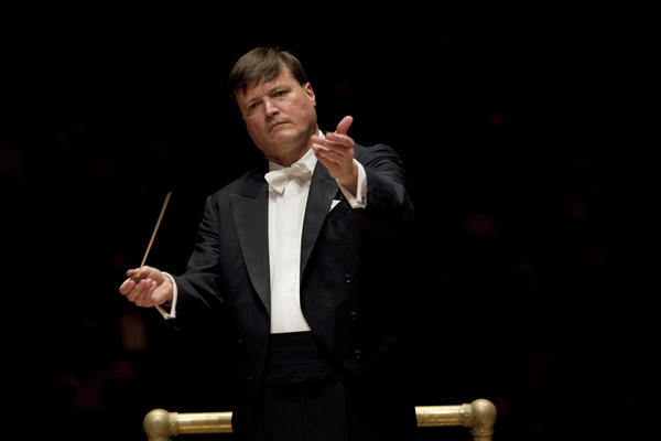 The Dresden Staatskapelle's principal conductor, Christian Thielemann, asserts that Anton Bruckner's music, in its long-winding search for beauty, is the perfect antidote for modern life. He and the orchestra brought Bruckner's Symphony No. 8 to Carnegie Hall on April 19, 2013.
