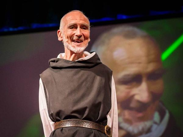 Brother David Steindl-Rast says taking even just a moment to be grateful will make you happy.