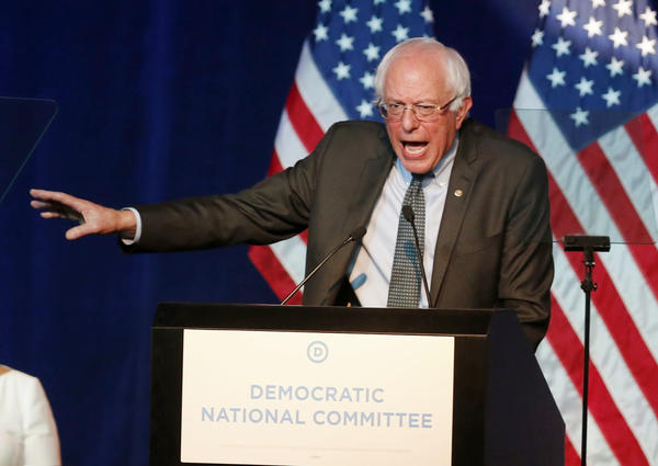 Sanders says he's disappointed that the Democratic Party has only scheduled four candidate debates. His campaign manager says they are contacting Republican candidates to potentially set up more debates.