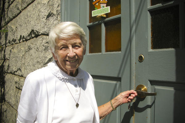 Sister Marie Albert, 84, received her Catholic primary education at St. Helena, when it was an all-white immigrant community.