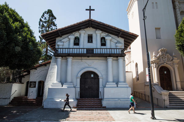 The Mission San Francisco de Asis was founded on June 29, 1776, and is commonly known as Mission Dolores. It is the oldest building in San Francisco and was under the direction of Father Junipero Serra.