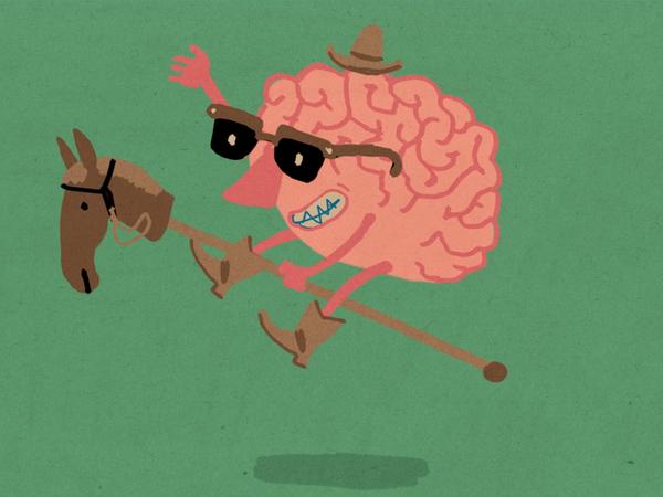 A brain at play.