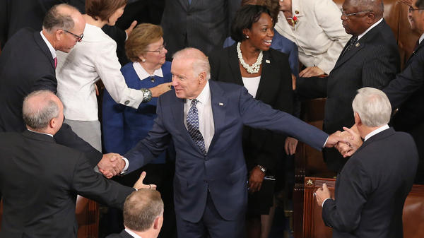 Nobody really knows whether Vice President Biden will run, but there's a debate in Democratic circles about whether he can afford to wait.