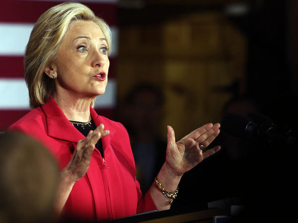 Democratic presidential candidate Hillary Clinton announced Wednesday she opposes the Trans-Pacific Partnership trade deal that the White House strongly supports.