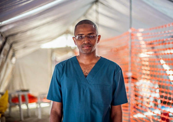 When Dr. Boie Jalloh got the call to join the fight against Ebola in Sierra Leone, his friends told him he'd be crazy to sign on. It's a good thing he didn't listen.
