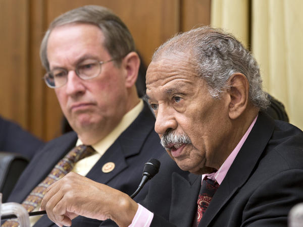 "House Judiciary Committee Chairman Bob Goodlatte (left) and ranking member Rep. John Conyers said their proposal comes after months of negotiations ""to ensure our federal criminal laws and regulations appropriately punish wrongdoers ... and do not waste taxpayer dollars."""