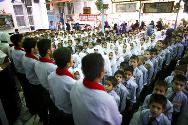 Tanweer School is a private school in a lower middle class neighborhood on the south side of Kabul.