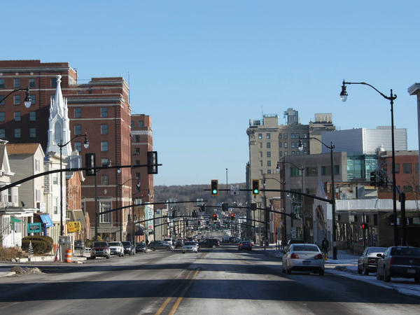 In the past few years, Hazleton, Pa., has gone from being known for its harsh anti-immigrant laws to 40 percent Latino.