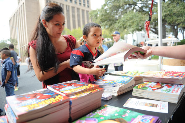 The Texas Book Festival is held in and around the capitol building every year.