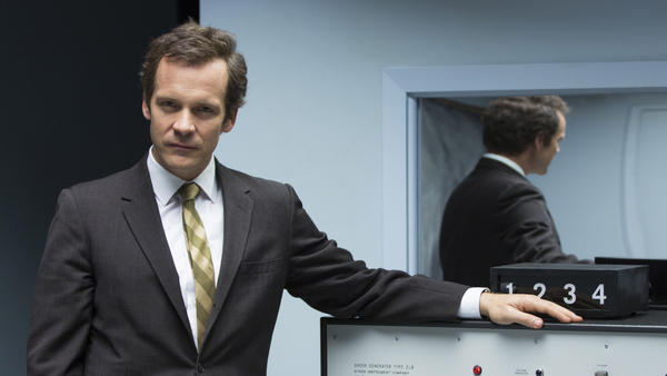 Peter Sarsgaard plays social scientist Stanley Milgram in <em>Experimenter. </em>