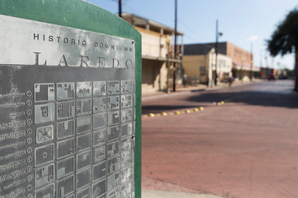 Some downtown Laredo merchants and residents are helping preserve their town's historic buildings.