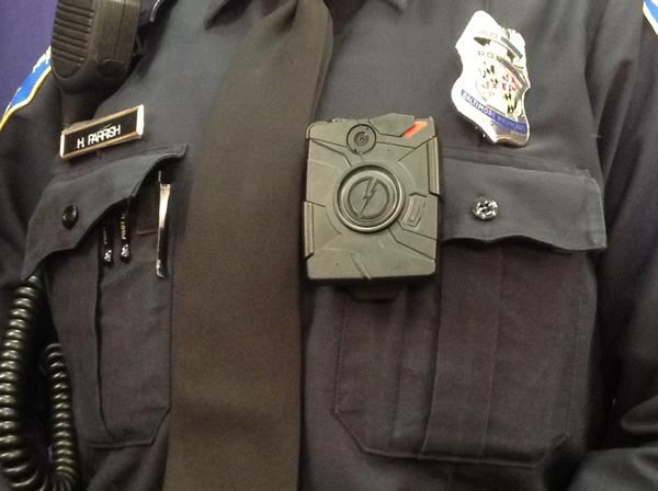 Officer Parrish and her colleagues in the Western District will be trying out the Axon Body Camera from Taser International.