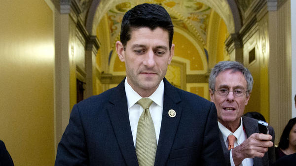 Rep. Paul Ryan told House Republicans he would only serve as speaker if they would embrace him as a consensus candidate.