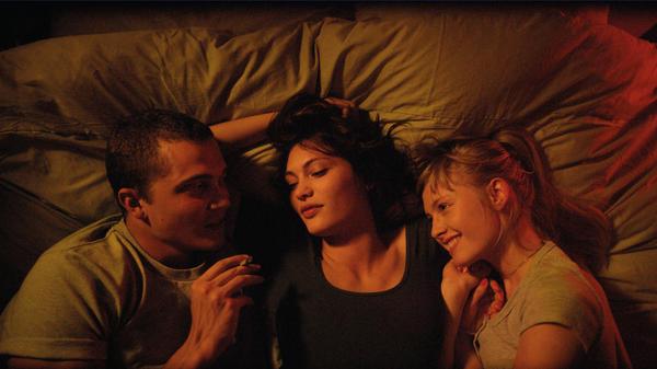 A scene from Gaspar Noé's <em>Love</em>.