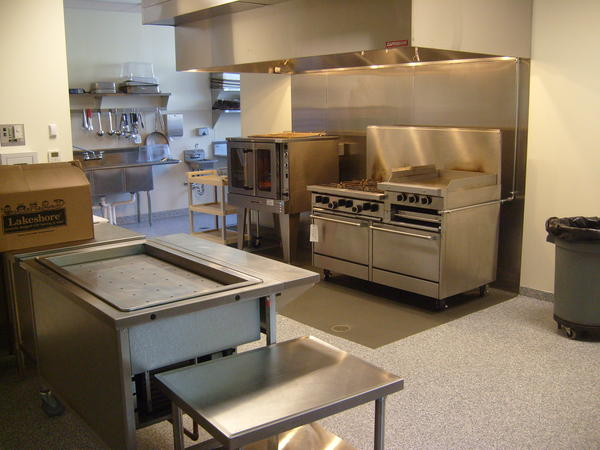 Their expanded kitchen and dining room allows the shelter to feed residents at one time as opposed to shifts.