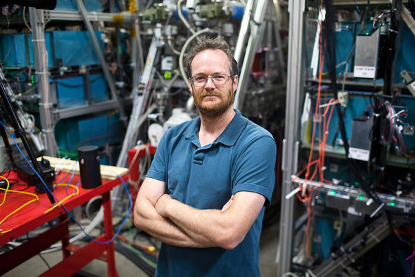 "Michel Laberge, president and chief technology officer of General Fusion, says the fusion machine he is developing ""is an insanely ambitious project."""