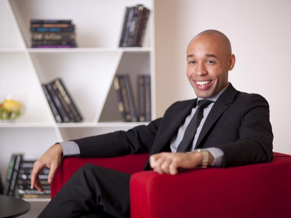 Pianist Aaron Diehl performs on Cecile McLorin Salvant's new album.