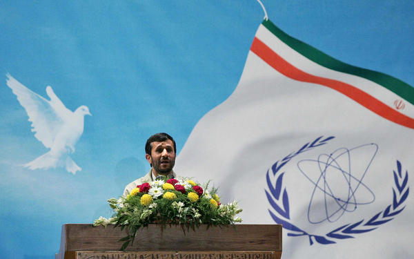 Mahmoud Ahmadinejad, Iran's president from 2005 to 2013, was a strong proponent of Iran's nuclear program.