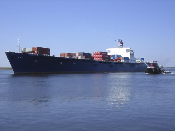 A search team believes it has discovered the wreckage of the El Faro is shown in this undated handout photo provided by Tote Maritime in Jacksonville, Fla.