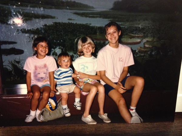Frannie Smith on a visit to the Field Museum of Natural History in the late 1980's with her family -- a favorite summertime activity.