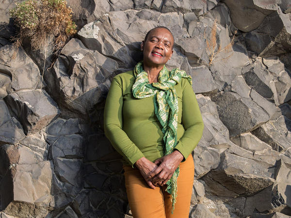 Zelma Maine Jackson says she's the only African-American woman geologist perhaps for hundreds of miles.