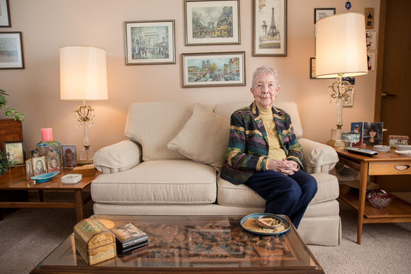Sue Olson, 94, was a Manhattan Project-era secretary at Hanford during World War II. She locked her filing drawer anytime she left her office.