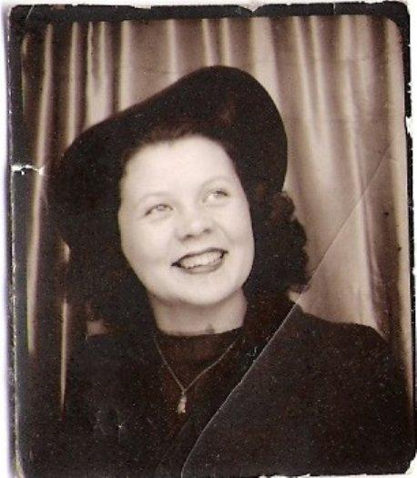 Susan Leckband's mother, Kelly Owen, in the 1940s. Her ashes are scattered in the Columbia River.