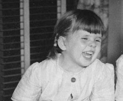 Susan Leckband at age three.