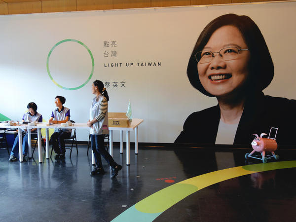 Taiwanese presidential front-runner Tsai Ing-wen's party has called for independence from China in the past. This time around, it's signaling pragmatism.