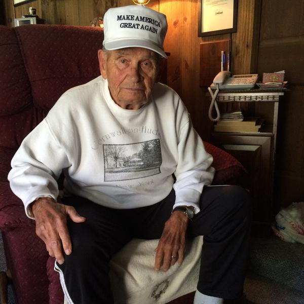 """""""He didn't know how to make a bed. He didn't know how to shine his shoes. He had a problem, you know, with being a cadet,"""" retired Col. Ted Dobias said of Trump arriving at NYMA."""