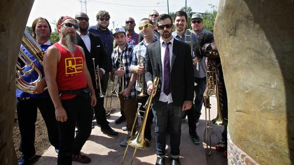 NO BS! Brass Band's latest album is called <em>Brass Knuckles</em>.