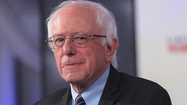 Sen. Bernie Sanders, I-Vt., candidate for the Democratic presidential nomination.
