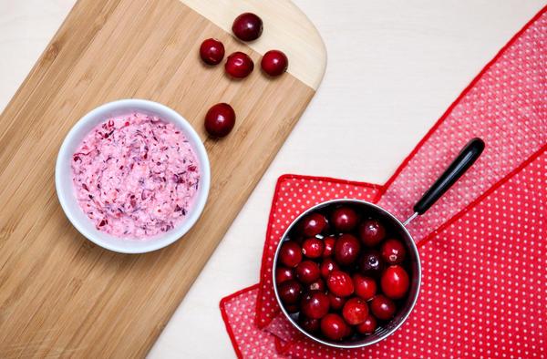 Mama Stamberg's cranberry relish.