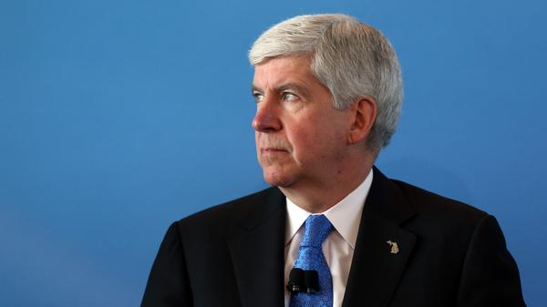 Michigan Gov. Rick Snyder was the first governor to ask for the federal government to stop relocating Syrian refugees to his state in the wake of the Paris attacks.