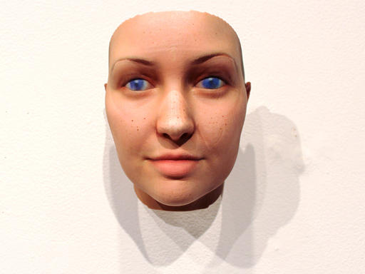 A self-portrait of Dewey-Hagborg, generated from a sample of her DNA.