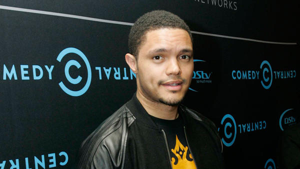 Seen here in 2012, Trevor Noah was announced Monday as the new host of <em>The Daily Show</em> on Comedy Central.