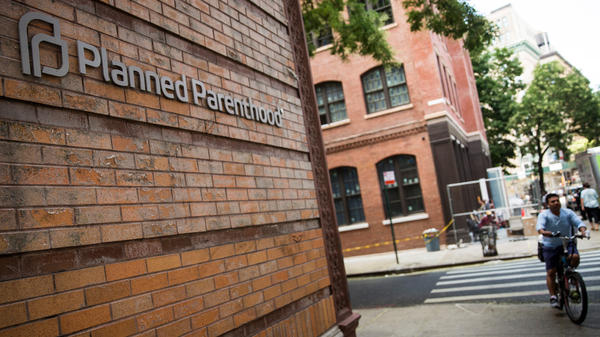 A Planned Parenthood location in New York City. The organization is a presidential-campaign target.