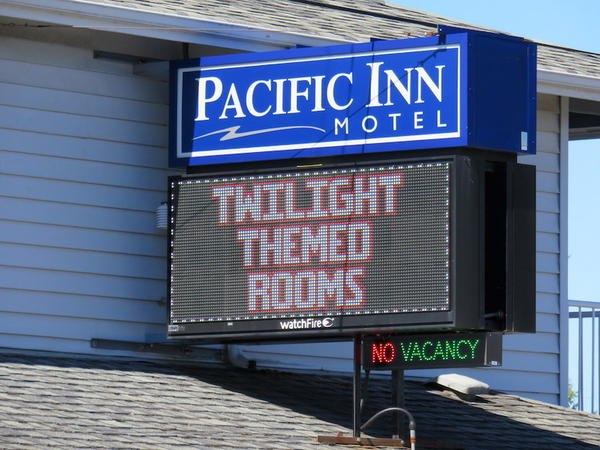 Forks motel owners are among those to capitalize on the Twilight phenomenon.