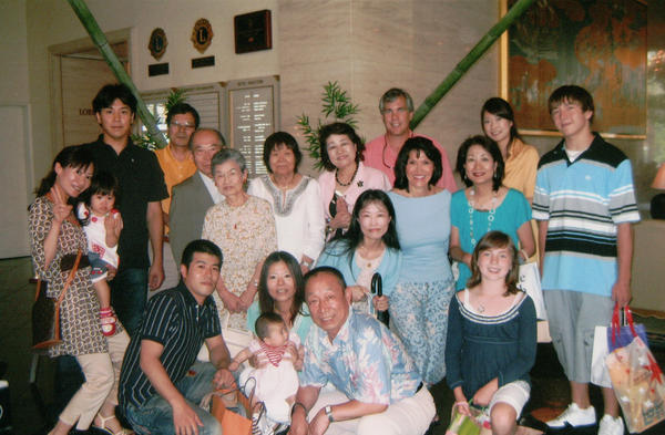 Four generations of the Ozaki Family in Osaka, Japan in 2007.