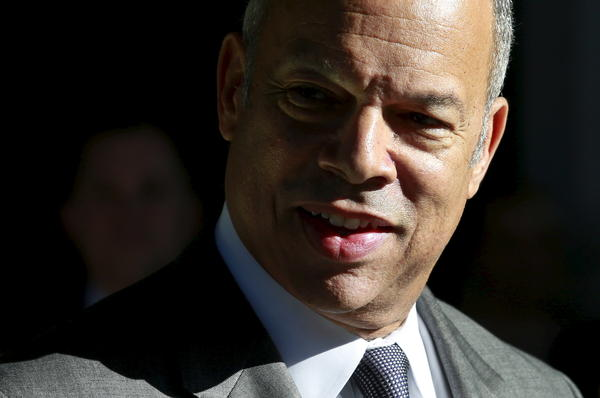 Department of Homeland Security Secretary Jeh Johnson.